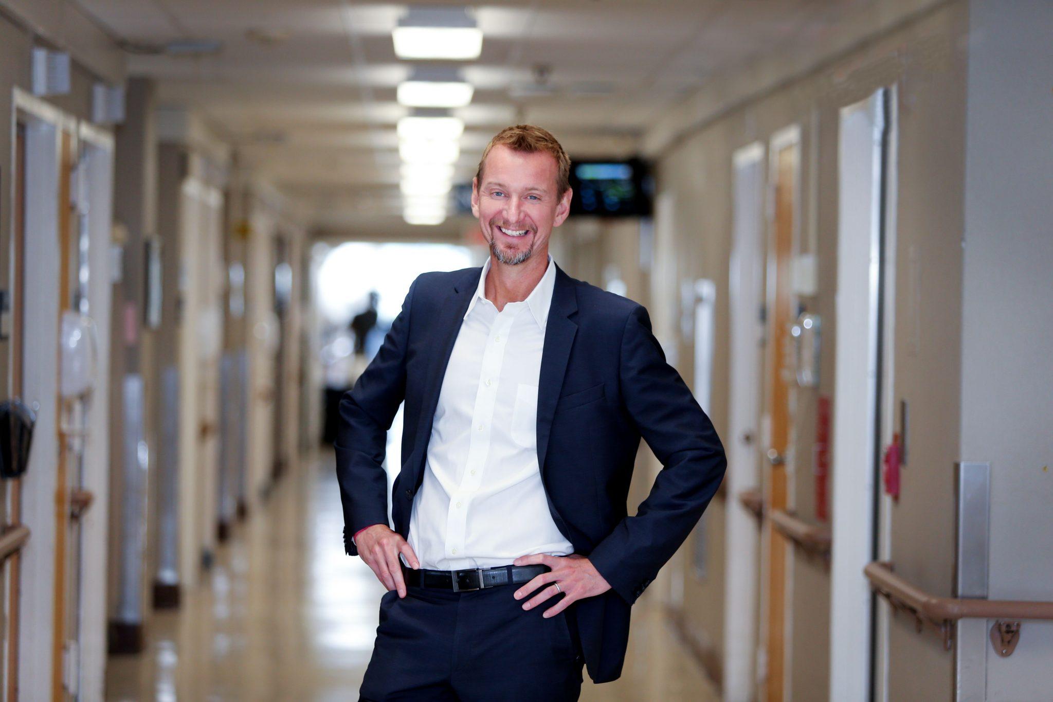 Dr Justin Lundbye - CEO of TesselMed